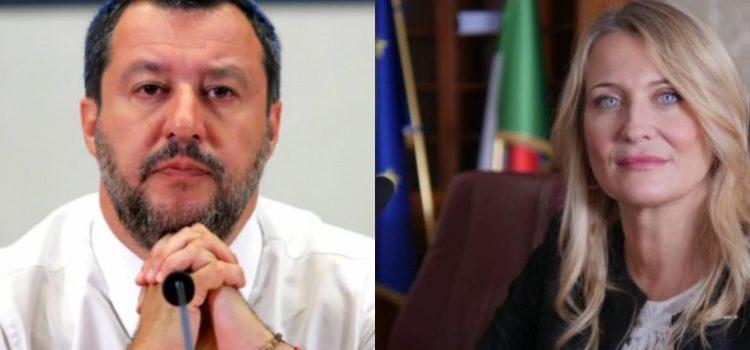 """Elena Botto attacca Matteo Salvini: """"Il re dell'insulto e delle bugie"""""""